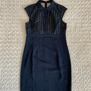 Ann Taylor navy blue dress - NWT